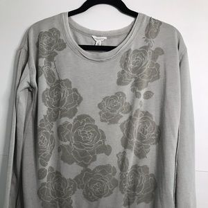 Aeropostale sweater - Grey floral